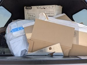 Cardboard and Plastic Recycling